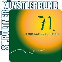 Logo 71. Jahresaustellung des St. Pöltner Künstlerbundes